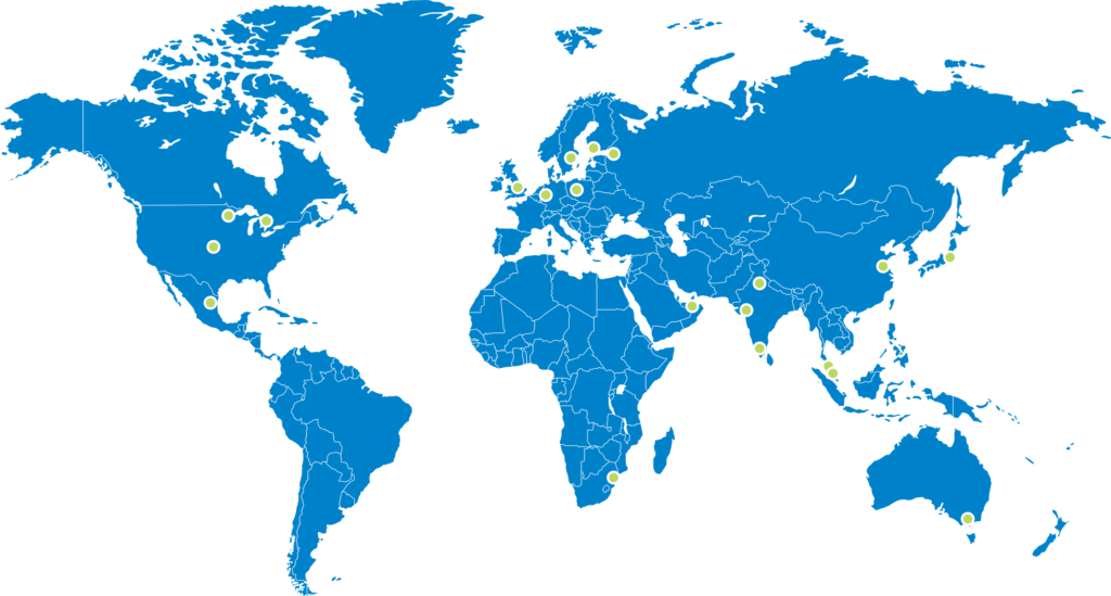 clear edge locations map